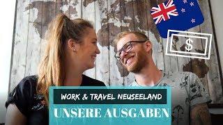 Neuseeland Kosten - das haben wir ausgegeben & wofür // Work and Travel Neuseeland