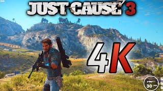 Just Cause 3 PC - 4K GAMEPLAY (MAX SETTINGS)