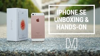 iPhone SE Unboxing and Quick Hands-On(, 2016-04-01T01:02:05.000Z)