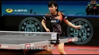 アジア杯優勝後、世界卓球に向けて制作された平野美宇選手の中国TVのド...
