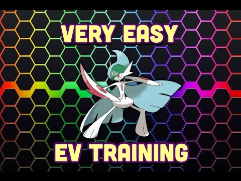 Pokemon sun and Moon [Very easy EV training]
