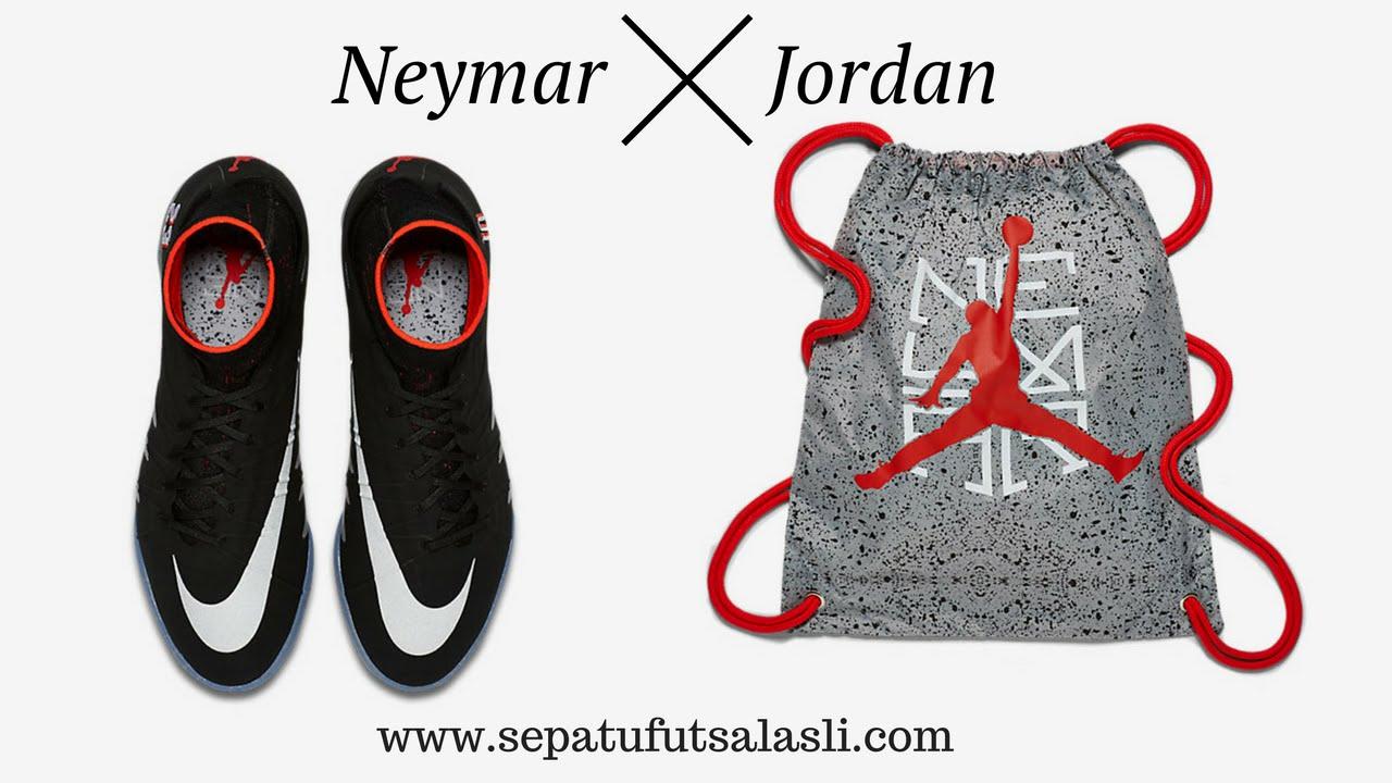 cdb093f3e42f ... authentic review sepatu futsal nike hypervenomx proximo neymar x jordan  a817d 2bae2
