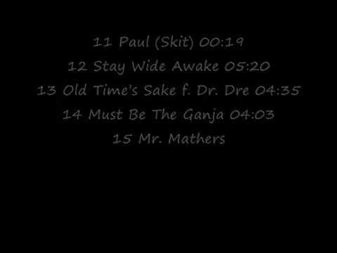 Official Eminem Relapse Tracklist