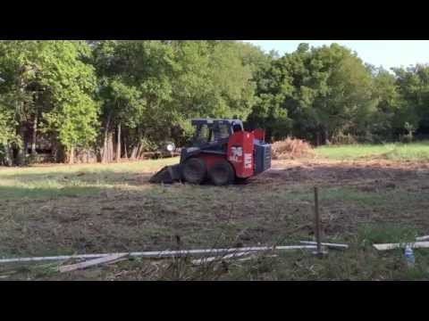 Build your own Metal Building Shop - Dirt work - preparing the foundation - Oldbarn Homestead