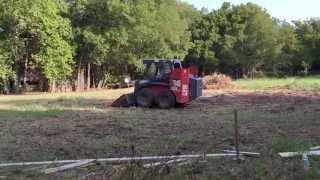 Build your own Metal Building Shop - Dirt work - preparing the foundation - Oldbarn Homestead