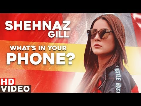 Shehnaz Gill | What's In Your Phone | katrina kaif | Speed Records