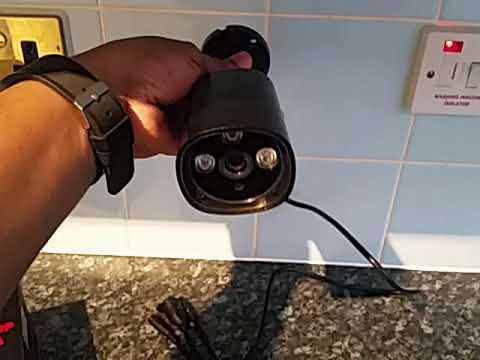 Smart Home POE Camera ieGeek HD 1080P Power Over Etherley Outdoor IP CCTV  Indoor Home Security ONVIF