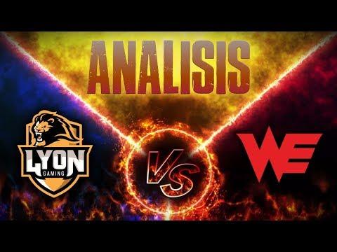 LYON GAMING VS TEAM WE - (WORLDS)   ANALISIS