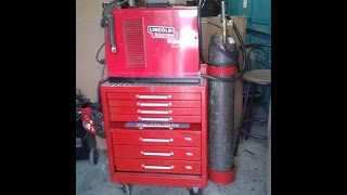 How To Make A Tool Chest Welding Cart