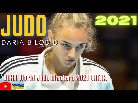 Judo DARIA BILODID UKR - DOHA World Judo Masters 2021 QATAR / 11.01.2021 / Day 1