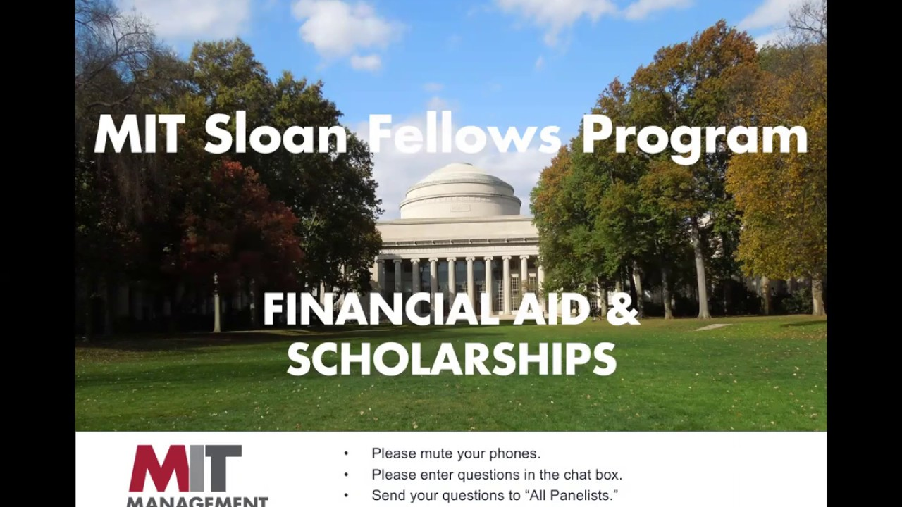 MBA Sloan Fellows: How to Finance your Sloan Fellows MBA