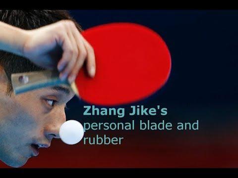 Zhang Jike's Equipment (blade And Rubber)