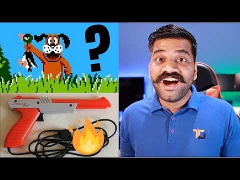 How Light Gun Works? Duck Hunt Gun Explained!!! The Early Tech 🔥🔥🔥