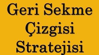 IQ Option Geri Sekme Çizgisi Stratejisi