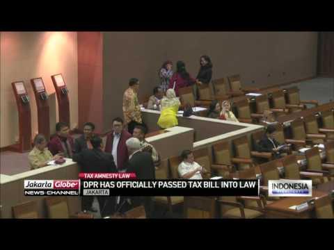 DPR Enacts Tax Amnesty Law
