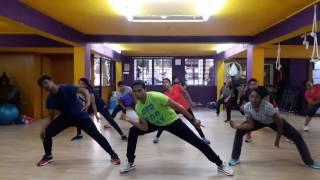 Repeat youtube video Dance fitness for song Blue Hai Pani Pani Sunny Sunny Yaariyan Full Song - Yo Yo Honey Singh