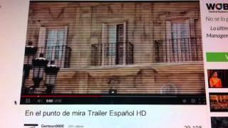 En El Punto De Mira: Tráiler En Español HD 1080P