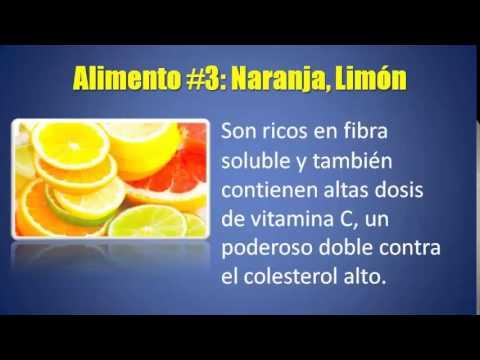 Los mejores 5 Alimentos Para Bajar El Colesterol y Los