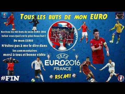 UEFA EURO 2016 [Tous les buts de mon EURO] (ps4)