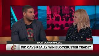 Did the Cavaliers really win the Kyrie Irving-Isaiah Thomas trade? | SportsNation | ESPN[野球]