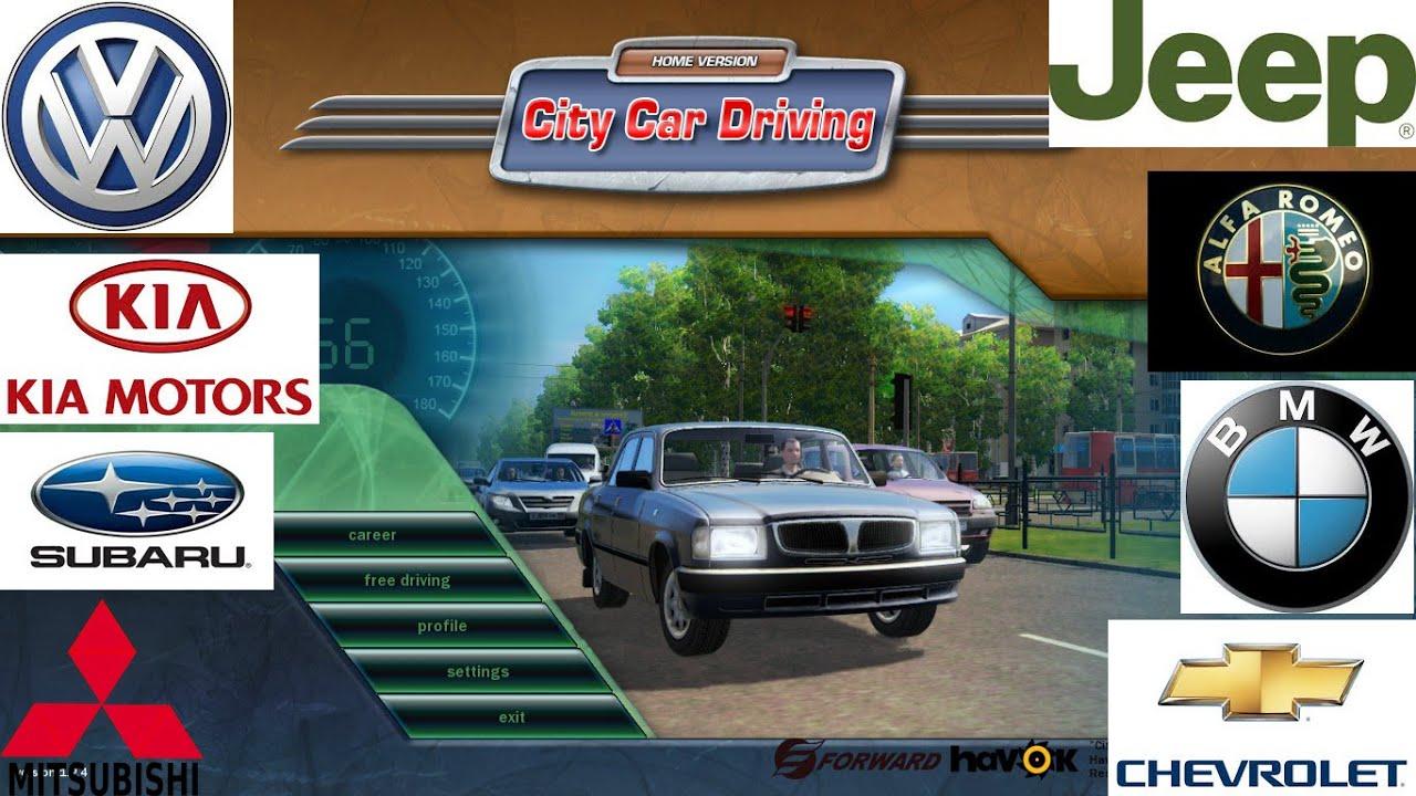 Mod List Car City Car Driving