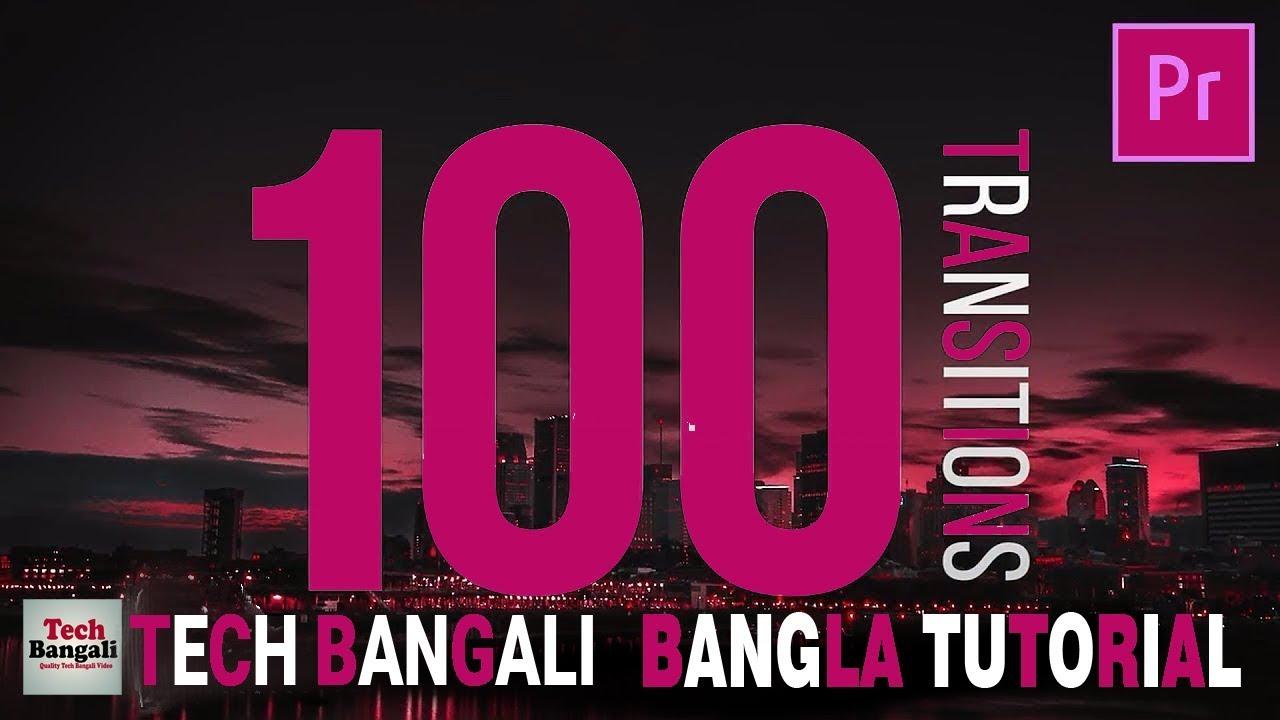 Adobe Premier pro 100 Transitions Full Free