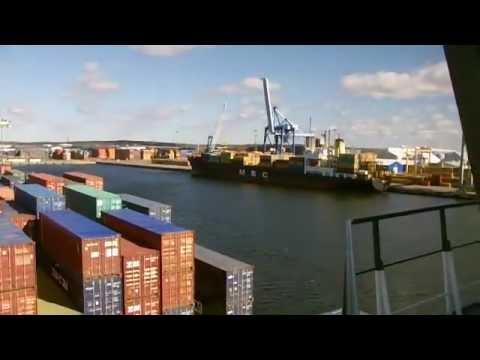 Frachtschiffreise nach Finnland im Mai 2012. Teil-1