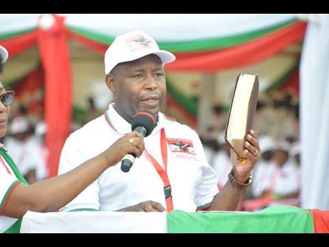 Burundi: Partido gobernante elige a general como candidato a elecciones presidenciales