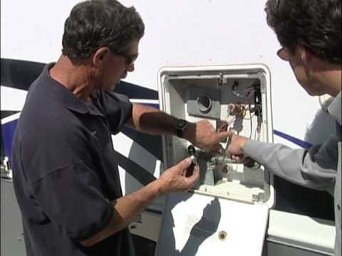 RV How To water heater thermostat - YouTube