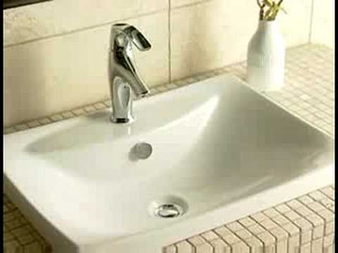 Kohler Kitchen Sink Through Wall Exhaust Fan Escale Suite Lavatory Basins And Vanity Tubs - Youtube