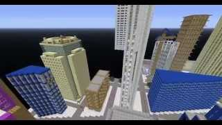 Карта New York  для minecraft