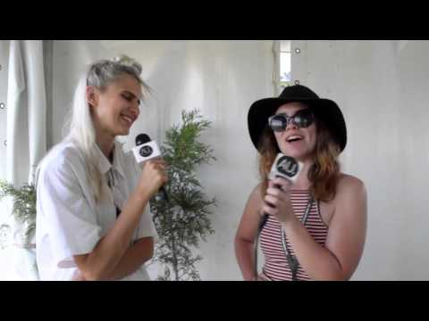 Banoffee: Interview at Falls Festival 2015
