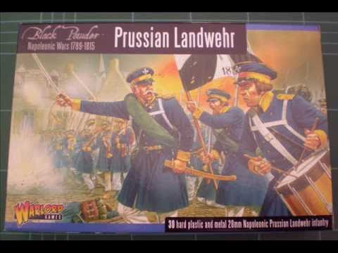 Miniature Review - Warlord Games Prussian Landwehr