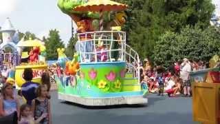 Sesame Place Parade