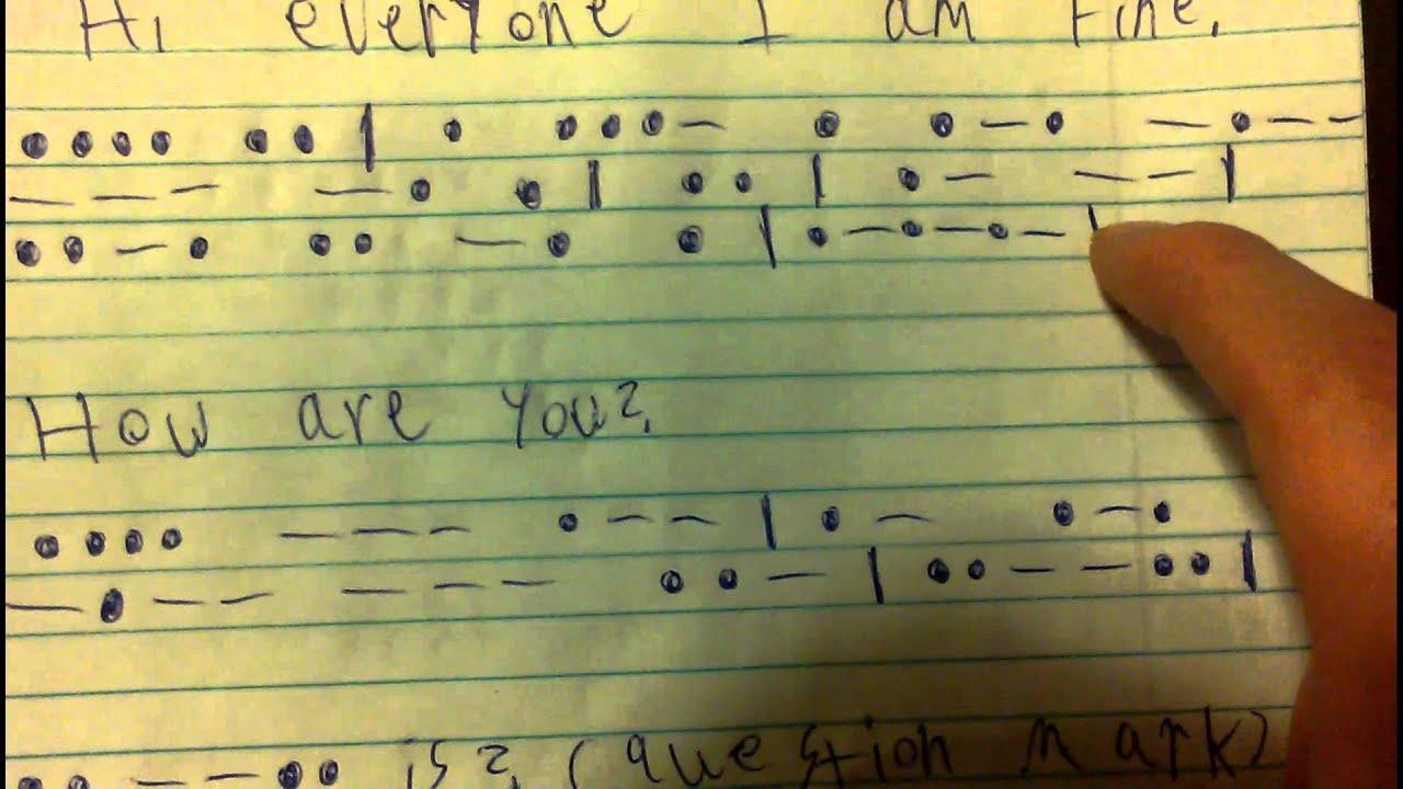 Learn Morse Code In A Minute