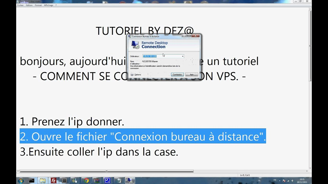 TUTO Comment se connect a son serveur VPS YouTube