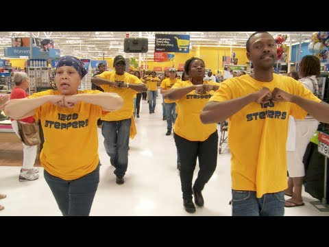 Walmart Workers Flash Mob | Raleigh, NC