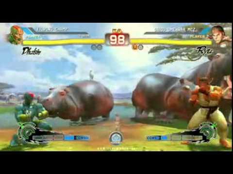 SSF4 AE: Daigo Umehara (Ryu/Yun) vs Filipino Champ (Dhalsim) - Casuals at NCR 9
