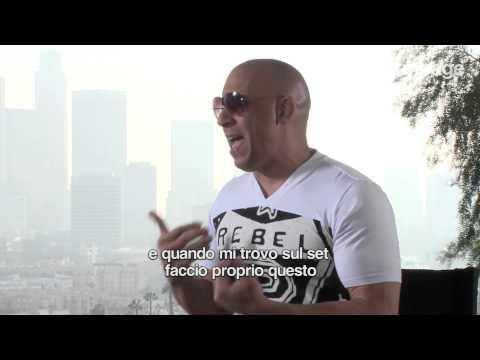 Vin Diesel emozionato canta