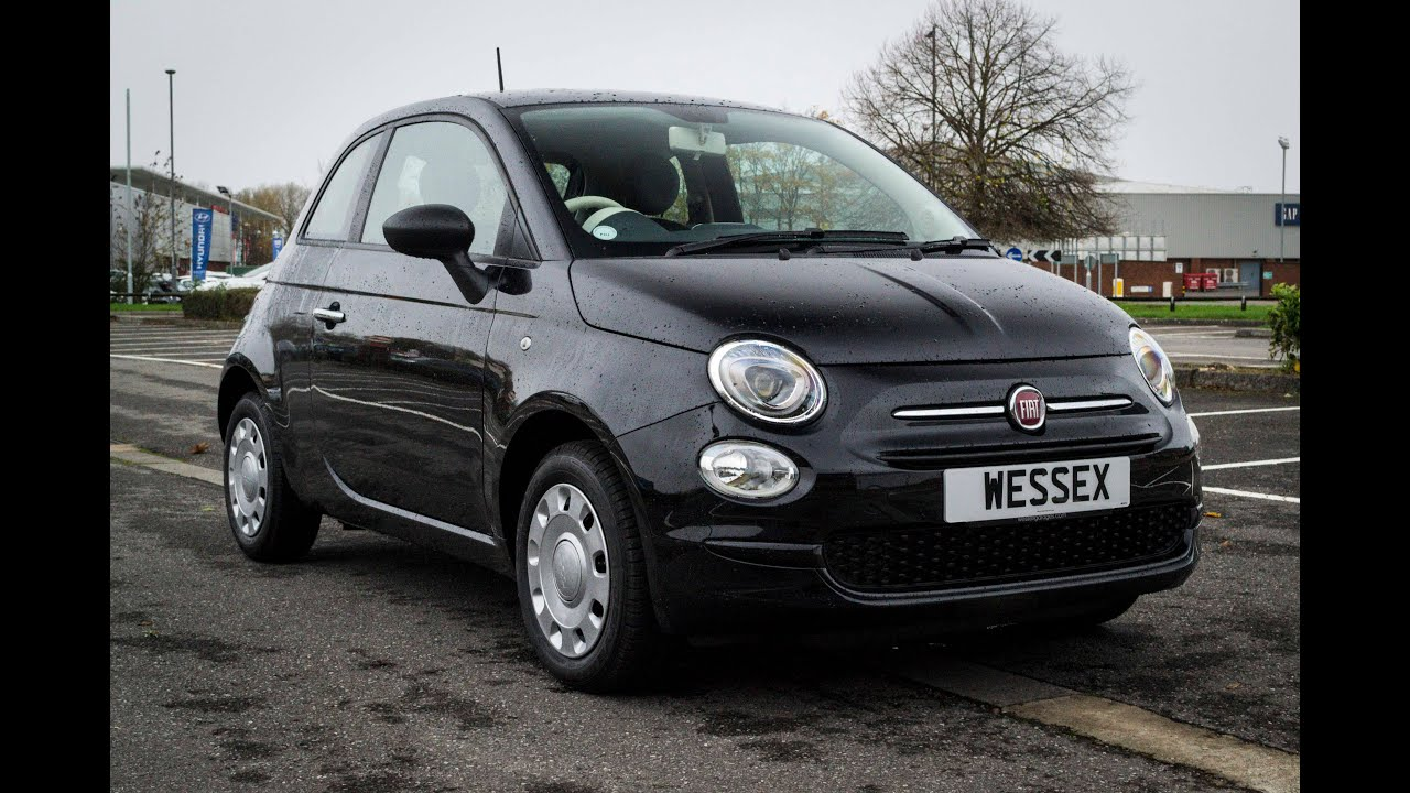 wessex garages newport pre reg fiat 500 pop petrol manual crossover black youtube. Black Bedroom Furniture Sets. Home Design Ideas