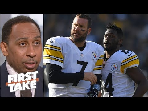 Ben Roethlisberger deserves blame for Antonio Brown/Steelers drama – Stephen A. | First Take Mp3