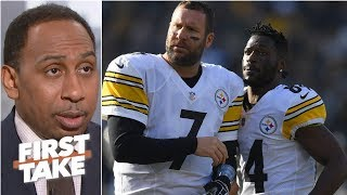 Ben Roethlisberger deserves blame for Antonio Brown/Steelers drama – Stephen A. | First Take