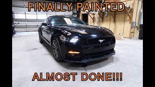 Rebuilding A Wrecked 2015 Mustang GT Part 4
