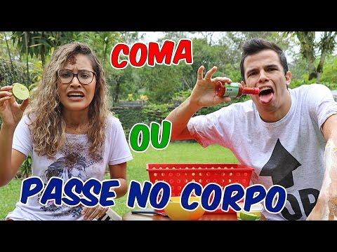 DESAFIO COMA OU PASSE?!  - COMPETIÇÃO DE NAMORADOS! - KIDS FUN