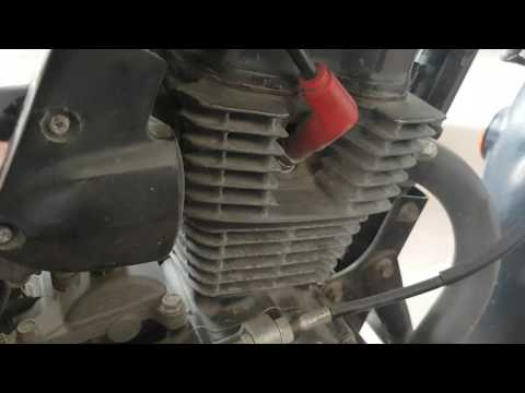 cbz xtreme engine noise    loose tappets - YouTube