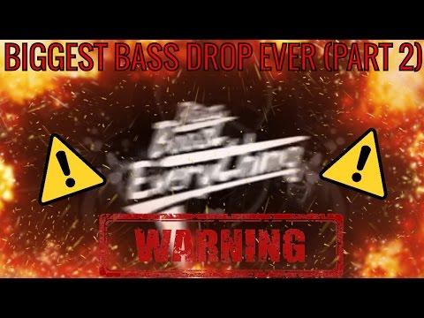 BIGGEST BASS DROP EVER! (EXTREME BASS TEST!!!) PART 2