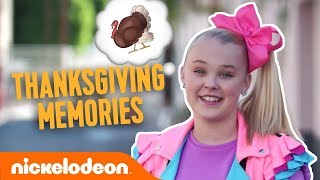 Nick Stars Talk Thanksgiving Memories 🦃 Ft. JoJo Siwa, Owen Joyner & More! | #TBT