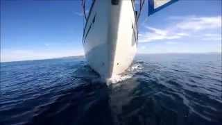 S/V Southern Cross Ep.7 - Messing with the GoPro and learning Sail Trim