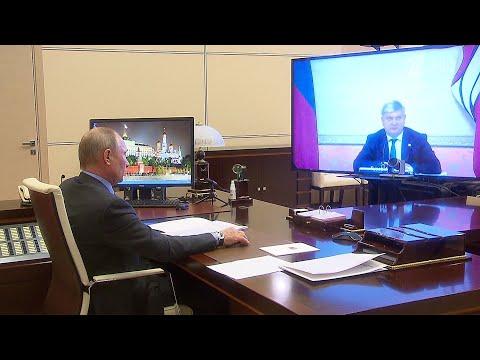 Главы Свердловской и Воронежской областей доложили президенту о борьбе с коронавирусом в их регионах