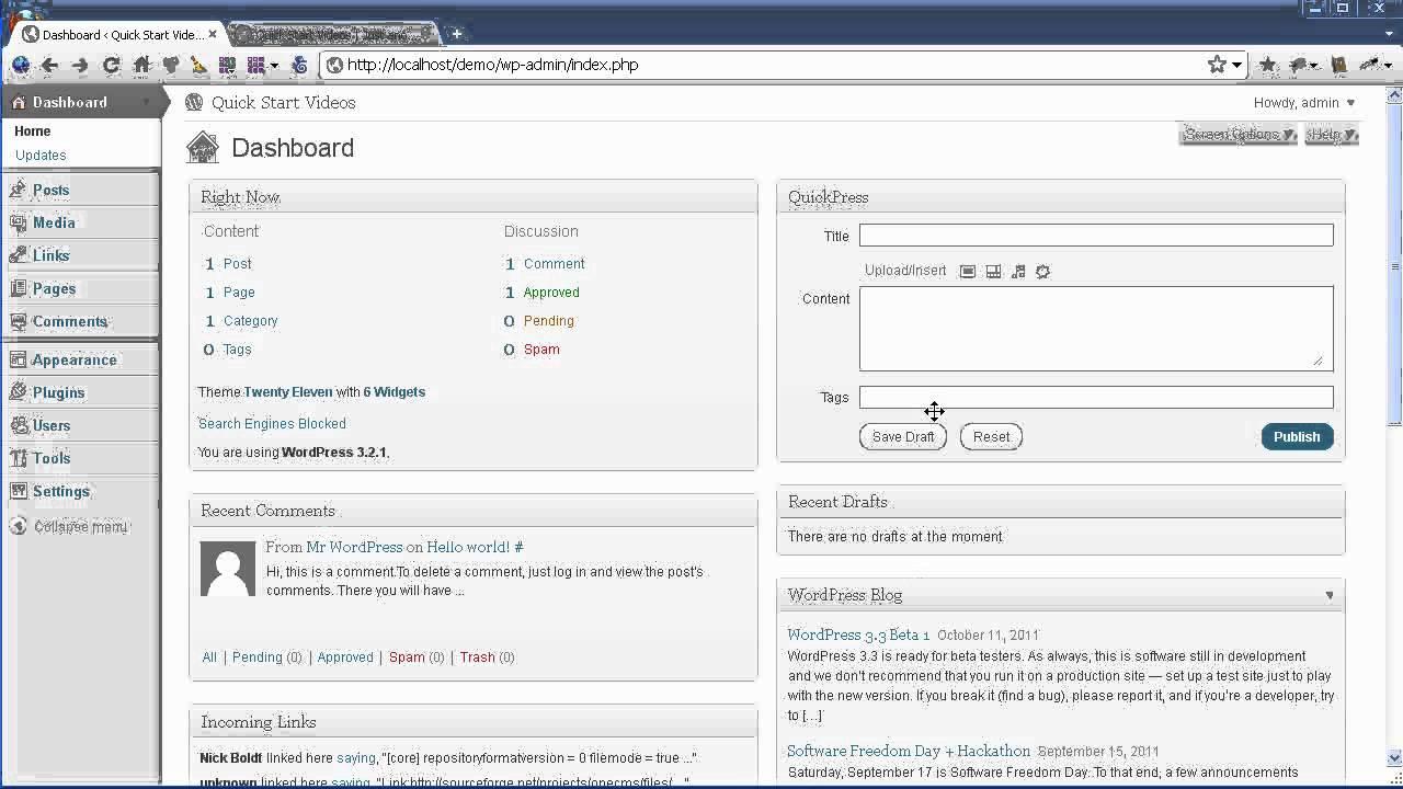 1  Website Weaver Installation - WYSIWYG WordPress Theme Editor